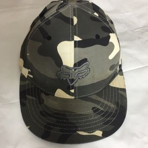 online store bb3ca 6baeb ... free shipping fox racing mens flexfit fitted hat s m 8748d ccfba